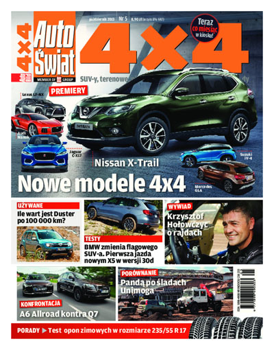 Cover - Auto Świat 4×4
