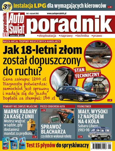 Cover - Auto Świat Poradnik