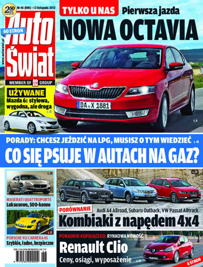 Cover - Auto Świat