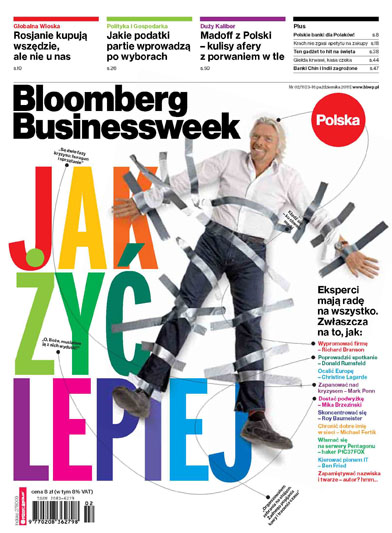 Cover - Bloomberg Business Polska