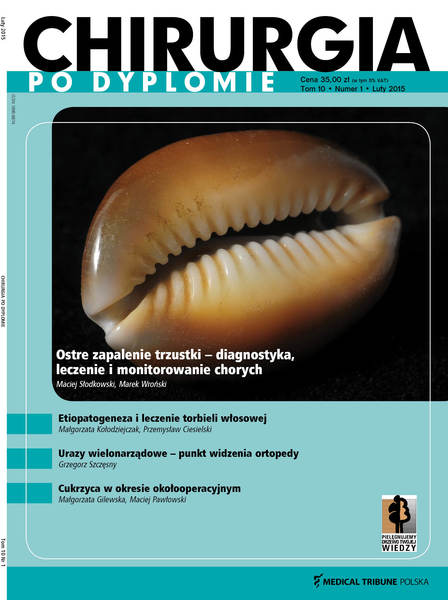 Cover - Chirurgia po dyplomie