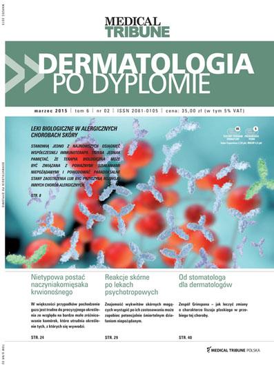 Cover - Dermatologia po Dyplomie