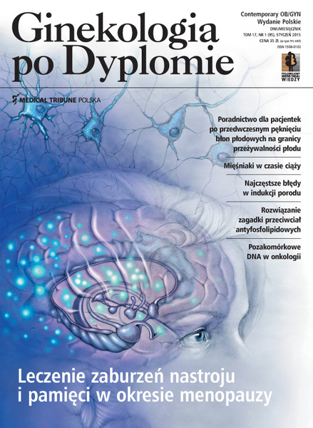 Cover - Ginekologia po Dyplomie