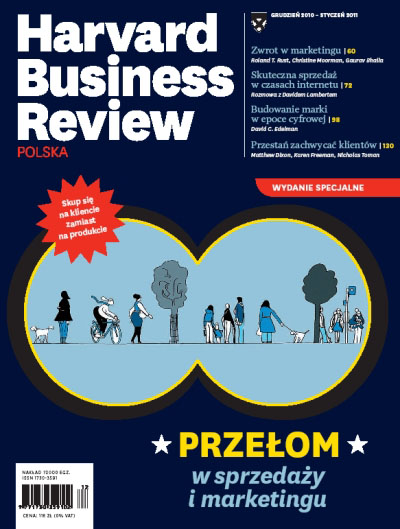 Cover - Harvard Business Review Polska