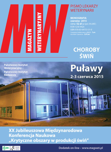 Cover - Magazyn Weterynaryjny
