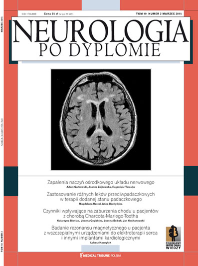 Cover - Neurologia po Dyplomie
