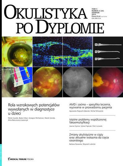 Cover - Okulistyka po Dyplomie