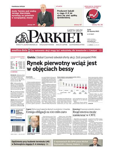 Cover - Puls Biznesu Parkiet