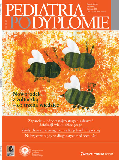 Cover - Pediatria po Dyplomie