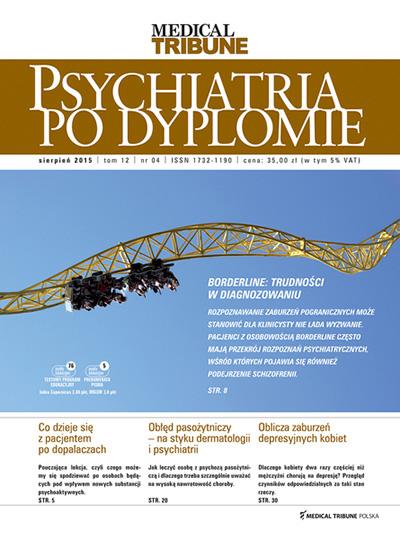Cover - Psychiatria po Dyplomie