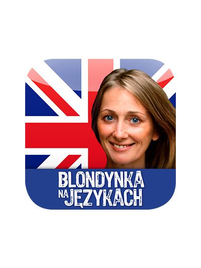 Cover - Blondynka na językach – Angielski