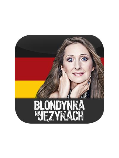 Cover - Blondynka na językach – Niemiecki