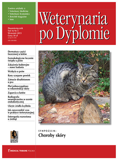 Cover - Weterynaria po Dyplomie