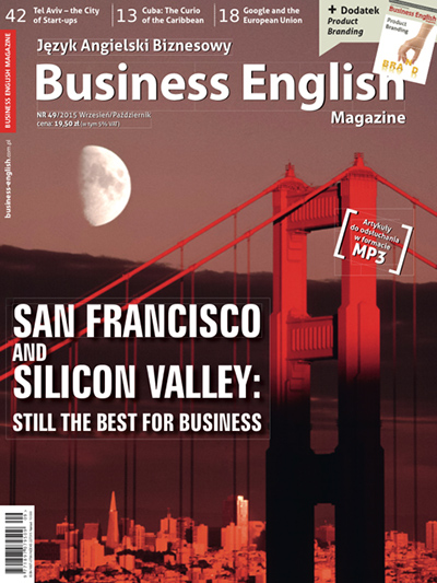 Cover - Business English Magazine