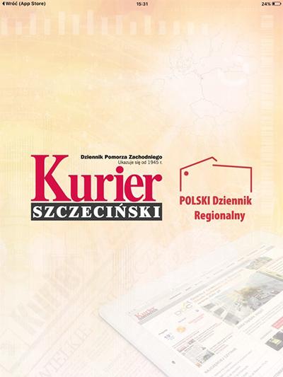 Cover - Kurier Szczeciński
